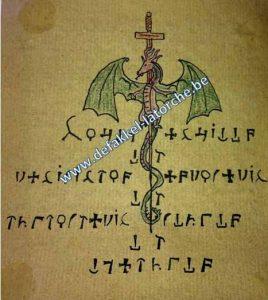 Pentakel van abt Julio cursus pentakels